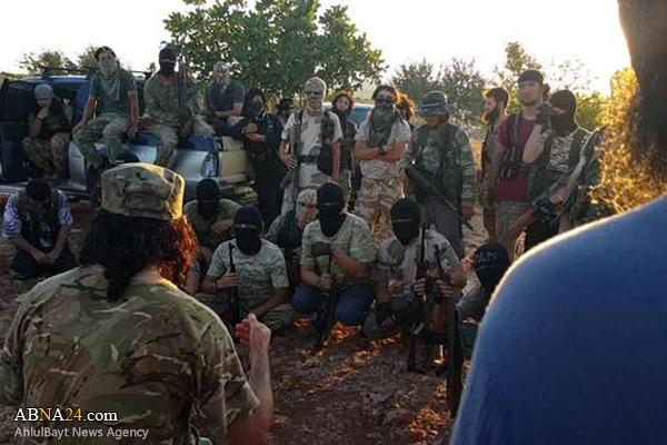 تروریستهای ازبکستانی در پی قتل عام شیعیان سوریه +عکس