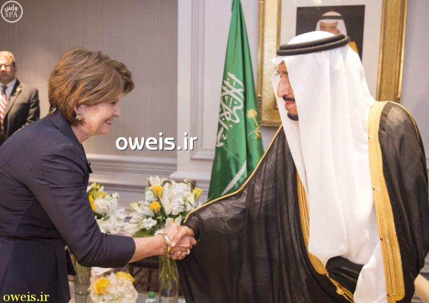 عکس/ رسوایی تازه شاه سعودی در آمریکا