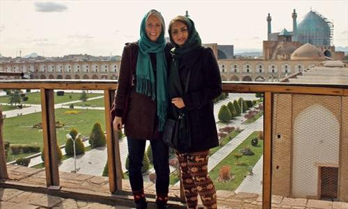 می گفتند زن تنهای آمریکایی نباید برود ایران +عکس