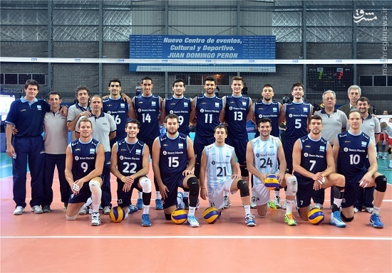 والیبال آرژانتین عکس جام جهانی والیبال تماشاگران والیبال تماشاگران آرژانتین اخبار جام جهانی والیبال