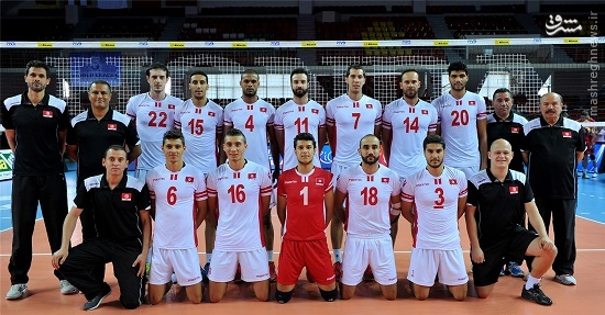 والیبال تونس تماشاگران تونس برنامه جام جهانی والیبال اخبار والیبال اخبار جام جهانی والیبال