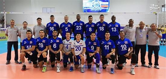 والیبال ونزوئلا برنامه جام جهانی والیبال اخبار والیبال اخبار جام جهانی والیبال