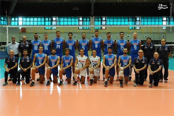 والیبال ایتالیا اخبار والیبال