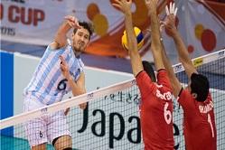 نتیجه زنده و لحظه به لحظه والیبال ایران - آرژانتین