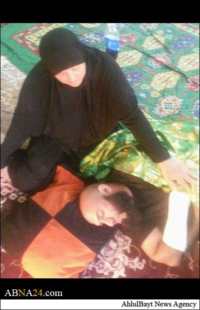 عکس/ ابوعزرائیل مجروح شد