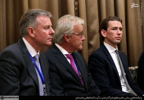 عکس/ جوانترین وزیر خارجه جهان در دیدار رهبری