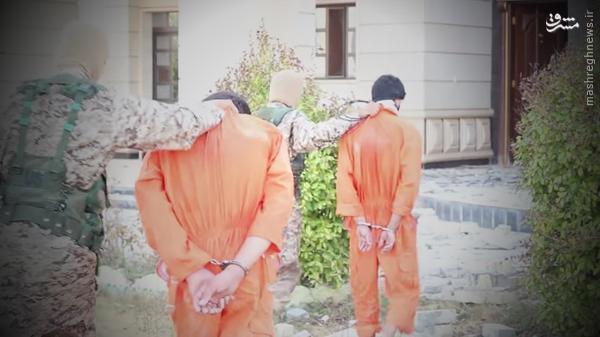 جدیدترین شیوه اعدام داعش+تصاویر