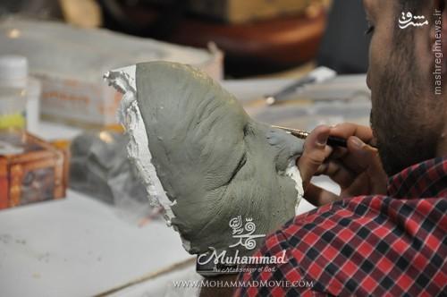 گریمور فیلم محمد(ص): فیلم مجیدی مهمترین تجربه کاریم بود + عکس