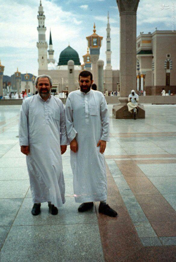 عکس/ ظریف در عربستان با دشداشه عربی