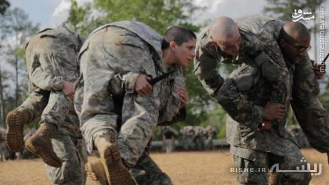 خشن ترین سربازان زن دنیا +تصاویر
