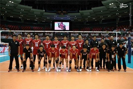 والیبال ژاپن تماشاگران والیبال تماشاگران ژاپن اخبار والیبال