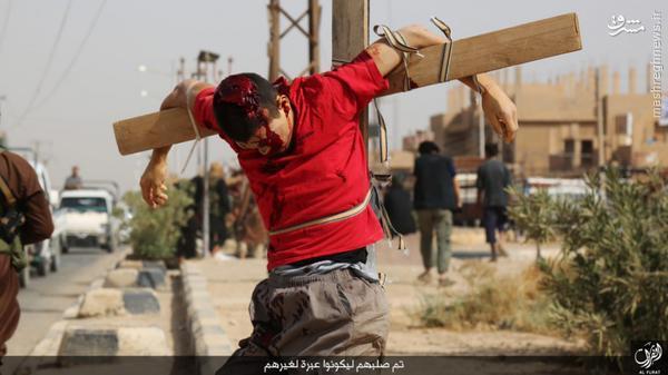 اعدام 4 سوری توسط داعش+تصاویر