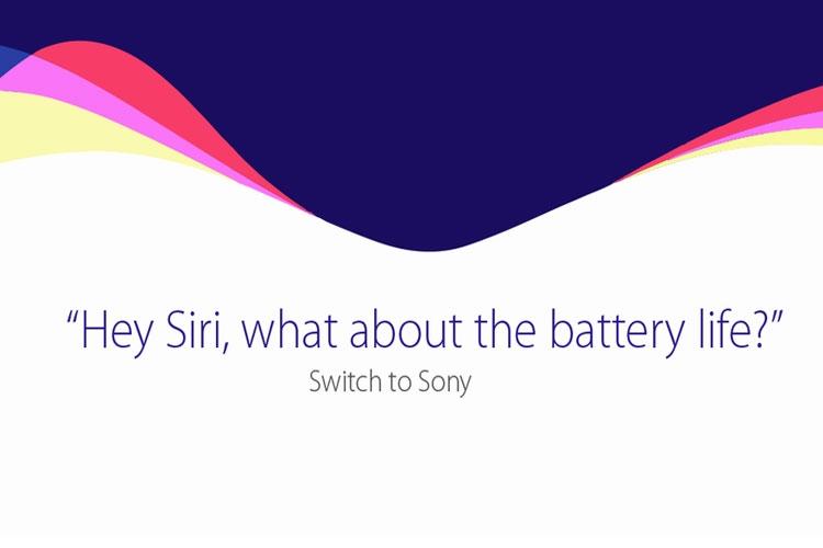 شوخی سونی با اپل درباره عمر باتری آیفونهایش