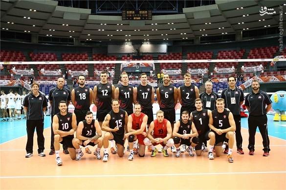 والیبال کانادا والیبال ایران برنامه جام جهانی والیبال اخبار والیبال اخبار جام جهانی والیبال