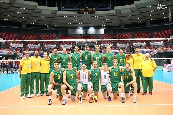 والیبال استرالیا نتایج جام جهانی والیبال برنامه جام جهانی والیبال اخبار والیبال اخبار جام جهانی والیبال