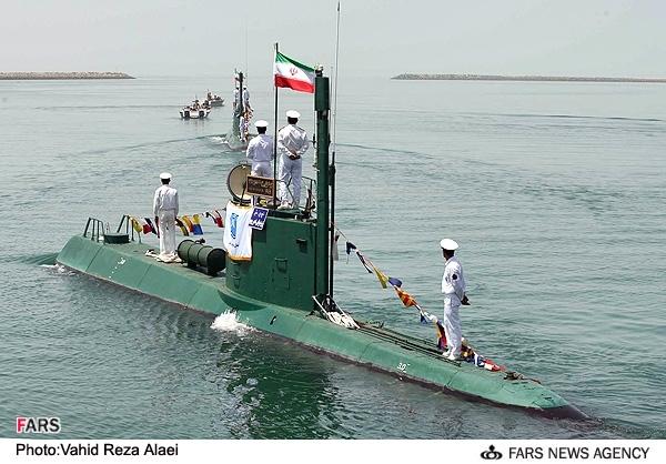 ناوهواپیمابر آمریکا متوجه حضور زیردریایی ایران در کنار خود نشد