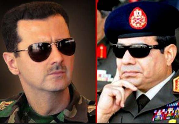 چرا السیسی به دنبال تقویت بشار اسد است؟/ مرد اول امنیتی سوریه در  مصر چه میکرد؟