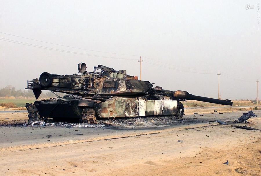 وقتی مدافعان یمنی با موشک 40 ساله اسطوره آبرامزهای سعودی را شکستند +عکس (آماده)