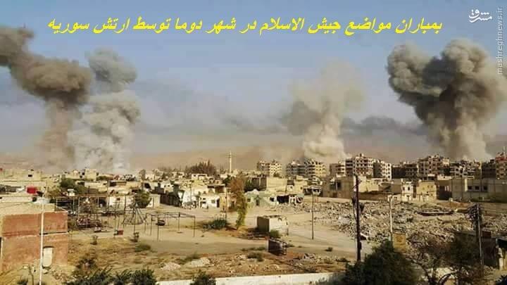 ادامه درگیریها در شرق حمص/شکست عملیات تروریستها در شمال دمشق/اعلام رسمی شکست تروریستها در جنوب سوریه/تلاش ترکیه برای مشتعل کردن مجدد جبهه حلب