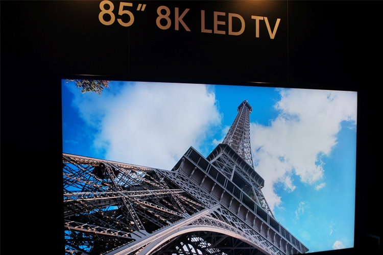 شارپ اولین تلویزیون 8K دنیا را عرضه میکند