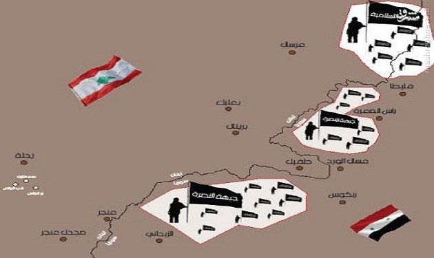 دستگیری فرمانده داعش در عرسال لبنان+تصاویر
