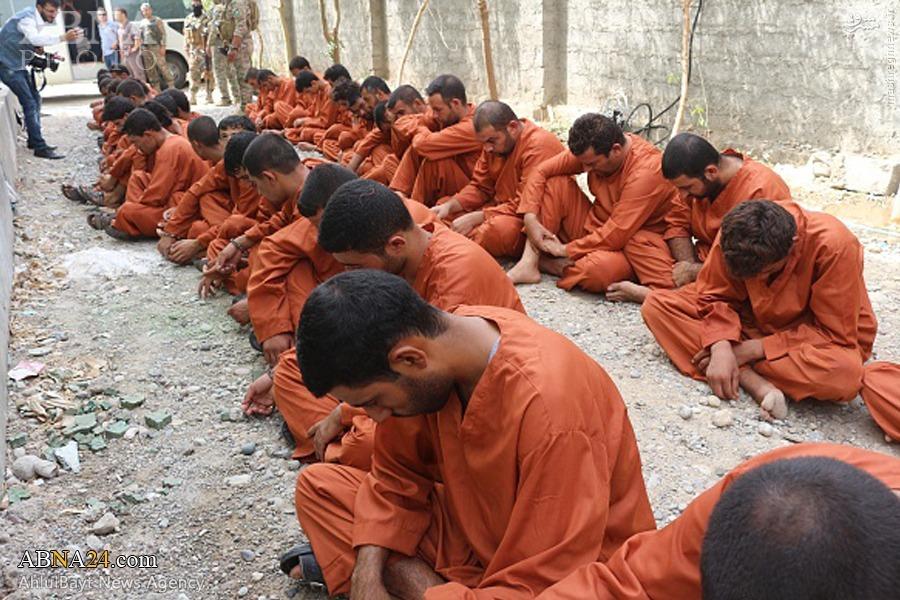 دستکیری 45 تروریست داعشی در کرکوک+تصاویر