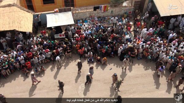 اعدام فجیع دو عراقی توسط داعش+تصاویر