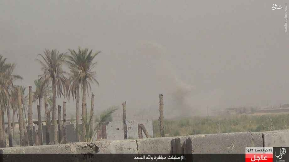 درگیریهای جنوب فلوجه به روایت داعش+تصاویر