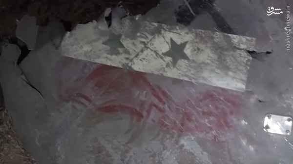 سقوط هواپیمای ارتش سوریه در حمص+تصاویر