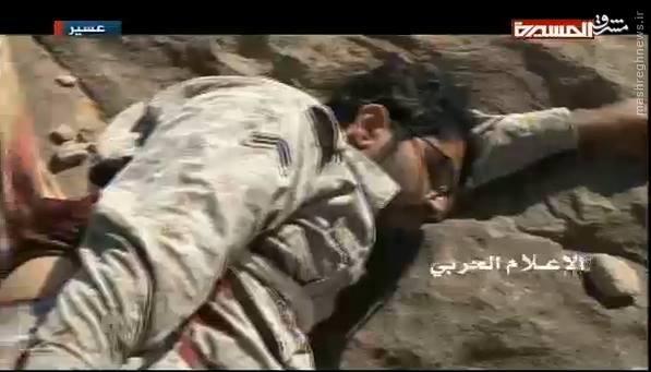 لحظه اسارت نظامیان سعودی در ربوعه+تصاویر