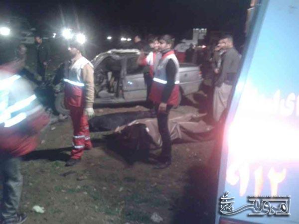 8 کشته و زخمی در تصادف خونین هرسین