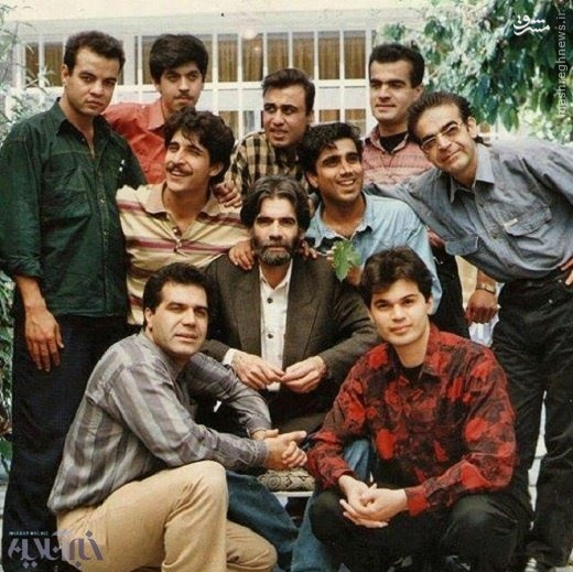 عکس زیر خاکی از بازیگران طنز ایران در ۲۱ سال پیش