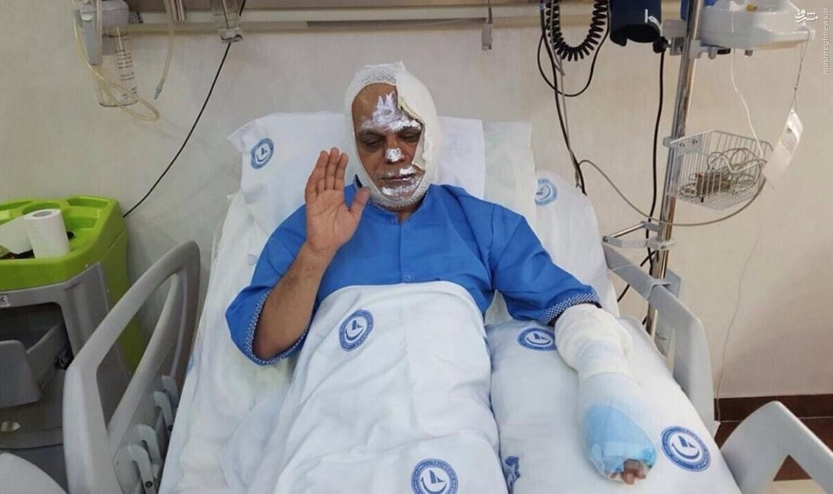عکس مرتضی طلایی از خودش روی تخت بیمارستان