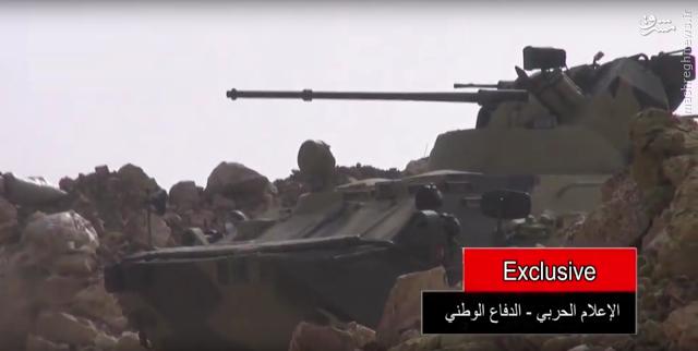 عکس/ زره پوش پیشرفته روسی در سوریه