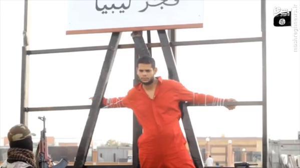 1187666 636 اعدام جوان لیبیایی توسط داعش+تصاویر