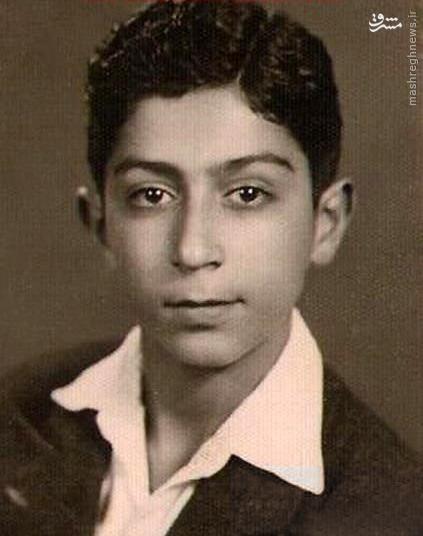 عکس/ پروفسور سمیعی در نوجوانی