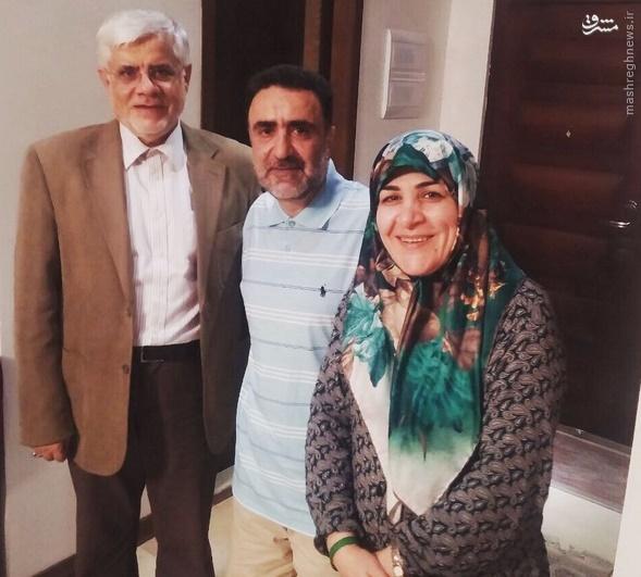 دیدار عارف با یکی از محکومان فتنه 88