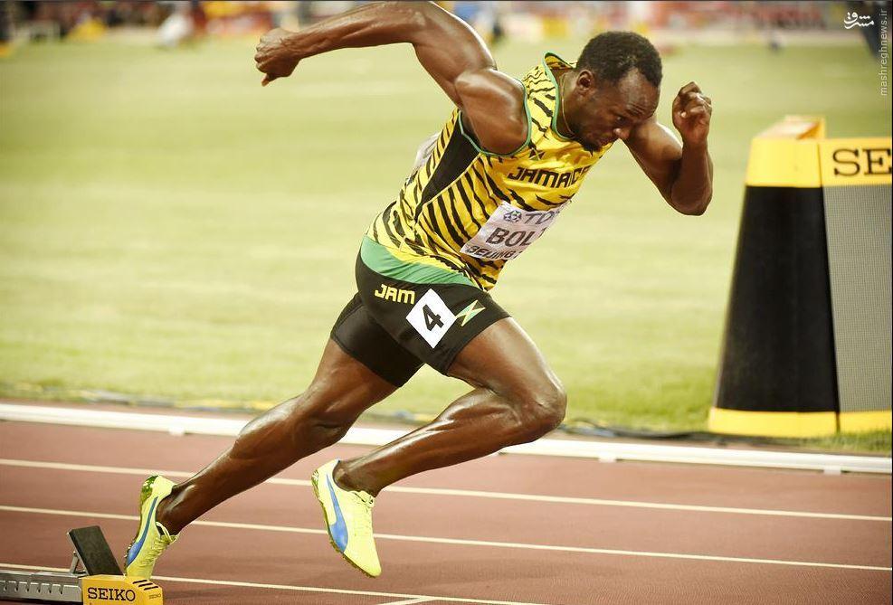 عکس/ لحظه استارت سریعترین مرد جهان