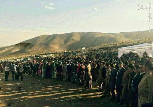 خاصترین عروسی در کردستان با 8میلیارد تومان کادو +تصاویر
