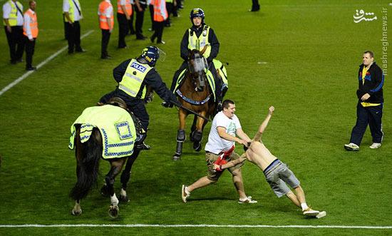 آن روی زشت فوتبال +تصاویر