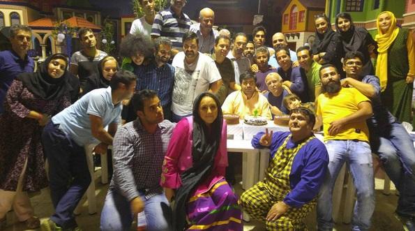 عکس/ جشن تولد «امیر نوری» در محله گل و بلبل