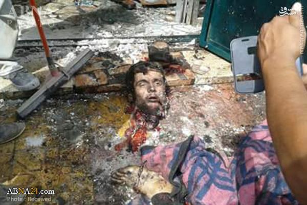 انفجار انتحاری یک داعشی در مقر جبههالنصره +عکس(18+)