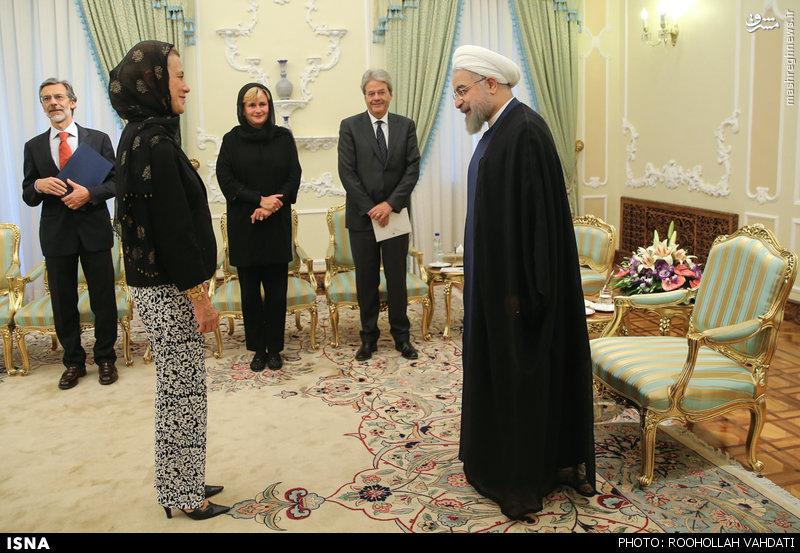 تداوم طنازی زنان دیپلمات مقابل مسئولان ایرانی و لزوم تشکیل گشت ارشاد دیپلماتیک + تصاویر