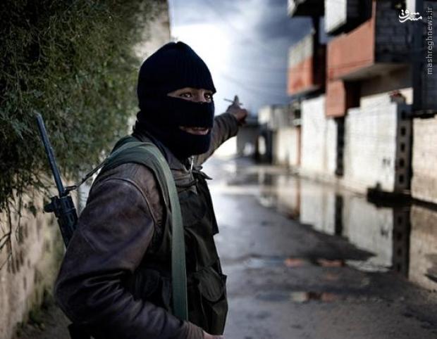 جنگ خیابانی در یک شهر ترکیه