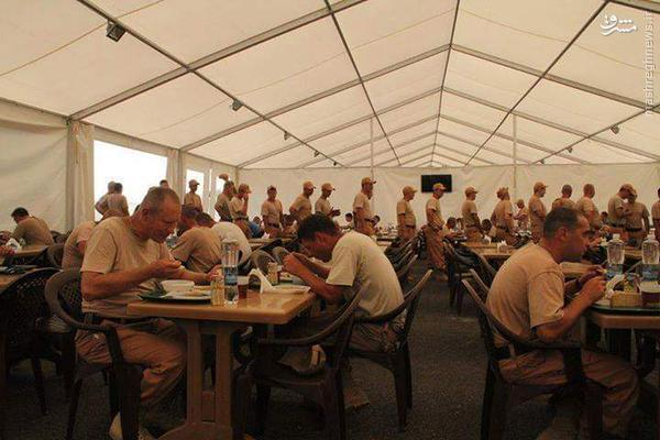 اقامتگاه نظامیان روس در لاذقیه+تصاویر