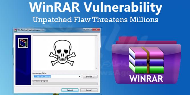 آسیبپذیری zero day نرمافزار WinRAR