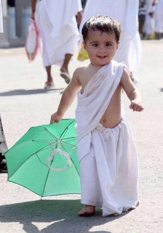 جذاب ترین کودک حاجی امسال+عکس