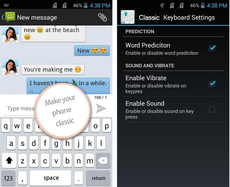 کیبورد آیفون را بهاندروید بیاورید + دانلود برنامه Classic Keyboard برای اندروید