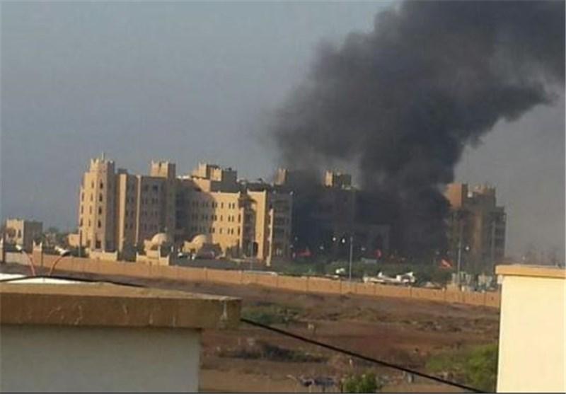 حمله موشکی به هتل محل اقامت «خالد بحاح»در عدن