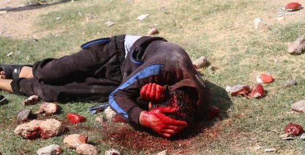 سنگسار جوان سوری توسط داعش+تصاویر